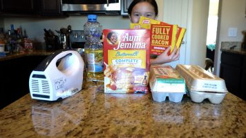 We Cook Waffles – This is NOT an ad for Aunt Jemima