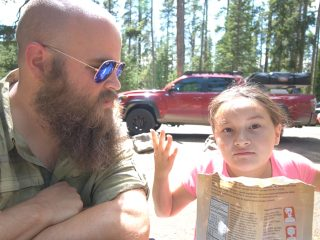 Father Daughter Milky Way Road Trip 2019